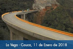 Entró en operación Puente Burulco en La Vega (Cauca)
