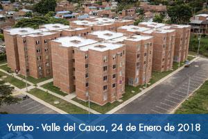 Fondo Adaptación entrega 160 viviendas adaptadas al cambio climático en Yumbo