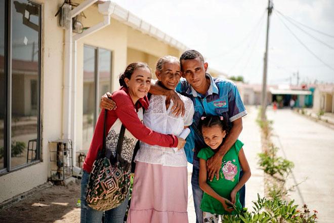 Fondo Adaptación entrega 96 casas adaptadas al cambio climático en Soledad (Atlántico)