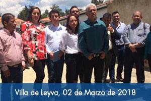 Fondo Adaptación entregó predio a nuevo contratista que continuará obra de hospital de Villa de Leyva