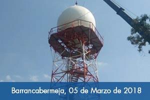 En abril entrará a operar nuevo radar en Barrancabermeja