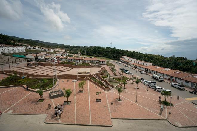 La construcción del nuevo casco urbano del municipio de Gramalote es segura