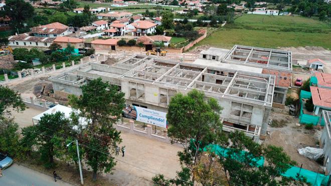 Se reinician obras de construcción de Villa de Leyva en Boyacá