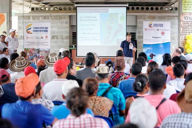 Fondo Adaptación invierte más de $860.000 millones en atención integral para La Mojana