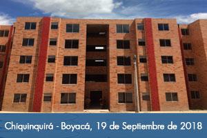 Más de 800 personas recibirán vivienda nueva y adaptada al cambio climático en Chiquinquirá