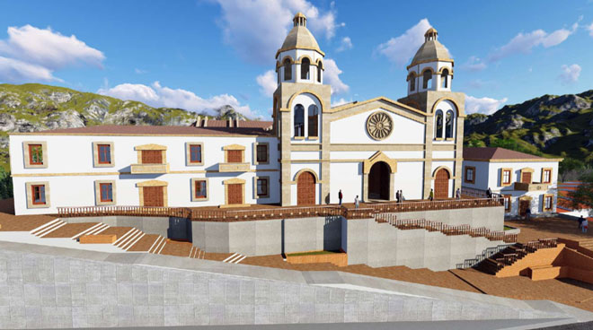 Este domingo se pone la primera piedra del nuevo templo de Gramalote
