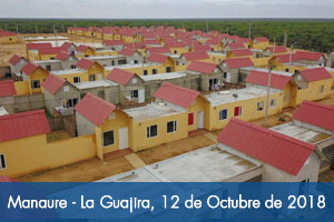 Minvivienda y Fondo Adaptación entregan 150 nuevas casas en Manaure