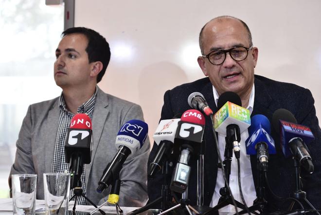 Declaraciones del gerente del Fondo Adaptación, Édgar Ortiz Pabón, con respecto a la situación del puente Hisgaura