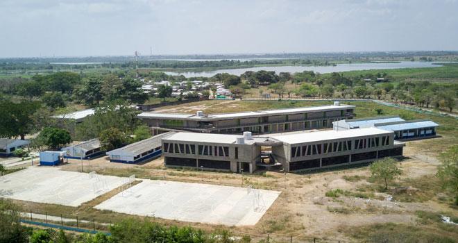 Yati ya tiene colegio adaptado al cambio climático