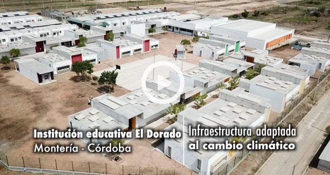 Montería estrena colegio y CDI adaptados al cambio climático