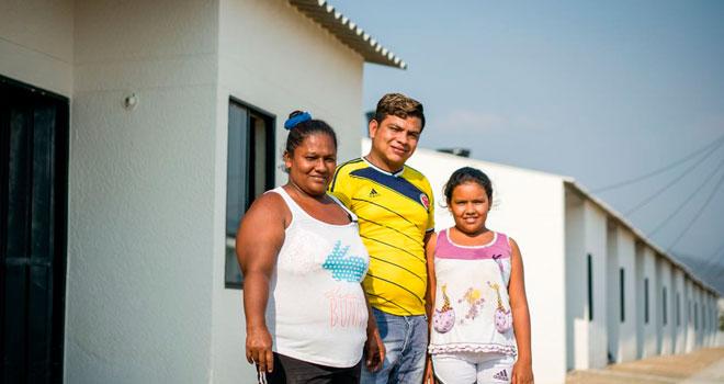 Nueva entrega de casas adaptadas al cambio climático en Magdalena