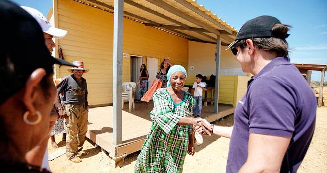 Fondo Adaptación entrega 170 casas en el punto norte más extremo de Colombia