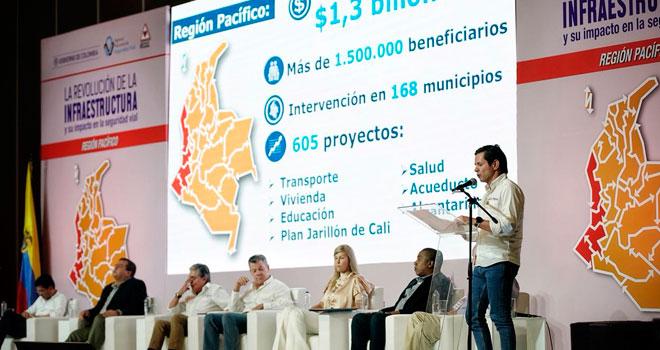 Fondo Adaptación invierte más de $1,3 billones en la Región Pacífico