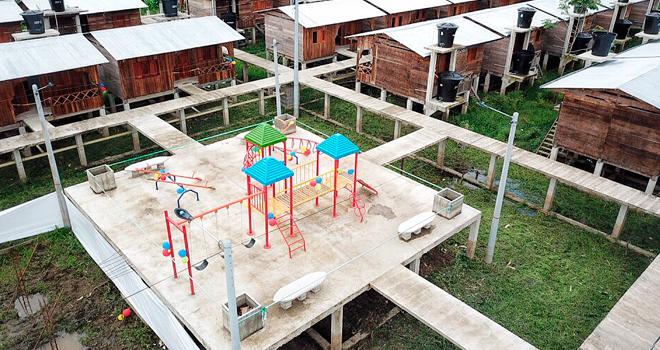 Fondo Adaptación entrega 130 viviendas nuevas en Riosucio y comienza obras de acueducto interveredal