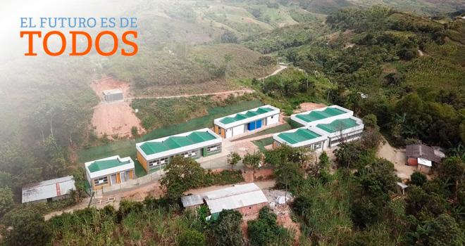 Municipio de Rosas ya cuenta con nueva sede educativa adaptada al cambio climático