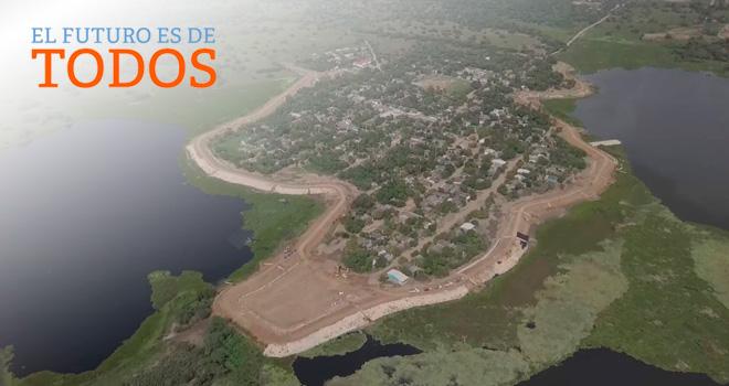 Listas obras de protección contra inundaciones en Higueretal
