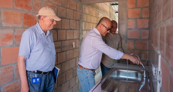 En municipio de Honda el Fondo Adaptación entrega nuevo proyecto de vivienda