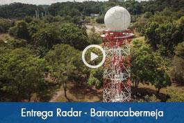 Entrega Radar Barrancabermeja