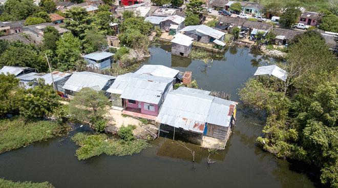 Realizarán liberación de predios para permitir la continuidad de las obras de protección en Gambote