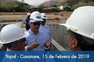 Próximo 6 de marzo debe fijarse fecha definitiva para culminar acueducto de Yopal