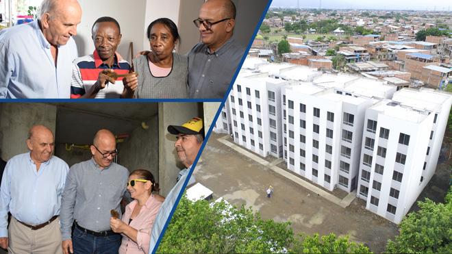 Fondo Adaptación entrega nuevas viviendas a 100 familias que vivían en el Jarillón de Cali
