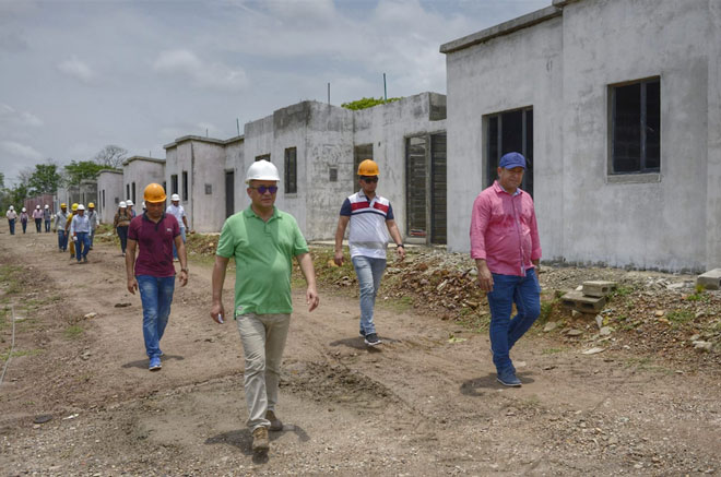 Avanza plan de salvamento para culminar proyecto de vivienda en Achí, Bolívar