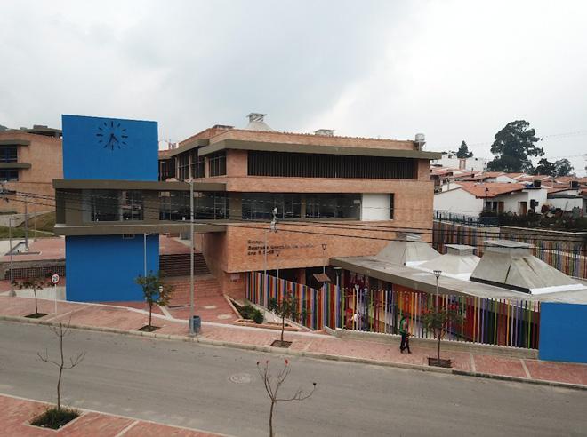Inauguran nuevo colegio y Estación de Policía en Gramalote