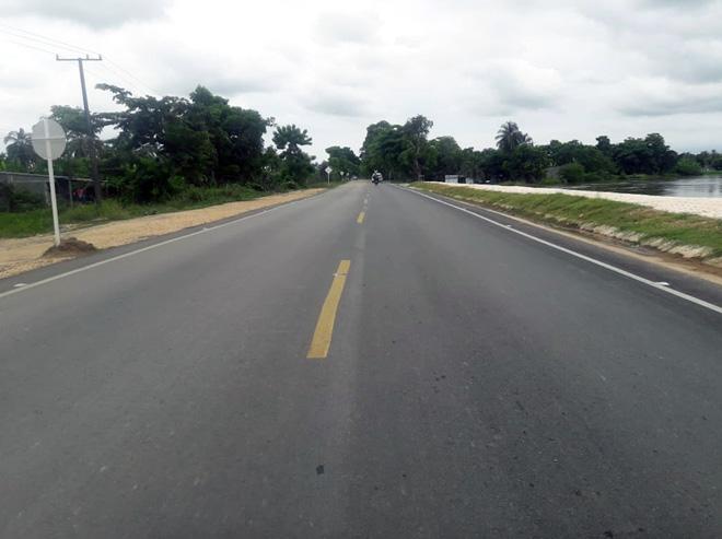 Fondo Adaptación entrega nueva obra vial en la ruta Lorica-San Bernardo del Viento