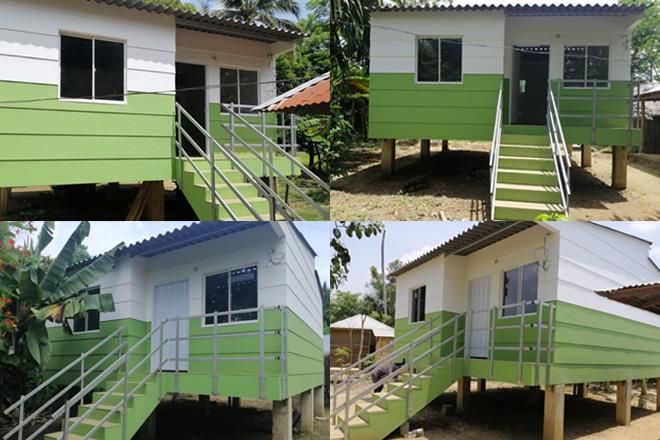 Fondo Adaptación entrega vivienda  a damnificados de San Benito y Guaranda, en Sucre