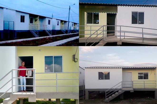 Fondo Adaptación entregó vivienda nueva a más de 180 personas La Mojana Sucreña