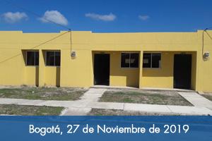 64 familias de Chiriguaná reciben casa nueva y adaptada al cambio climático