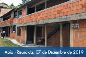 18 Familas de Apía, Risaralda, reciben vivienda del Fondo Adaptación