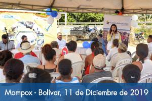 Fondo Adaptación inicia implementación de proyectos productivos para generar ingresos a 40 familias de Villa Mompox