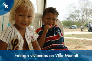 Entrega Viviendas Villa Manatí