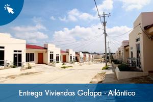 Entrega Viviendas Galapa - Atlántico