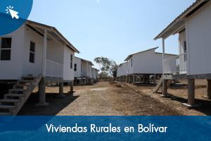 Viviendas Rurales en Bolívar
