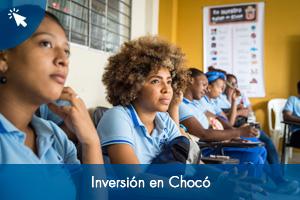 Inversión en Chocó