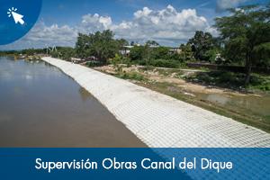 Supervisión Obras Canal del Dique