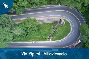 Fondo Adaptación entrega obras de la vía Pipiral - Villavicencio