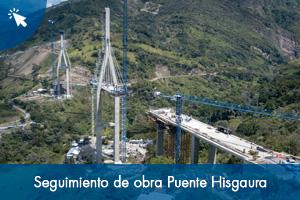 Seguimiento de obra Puente Hisgaura