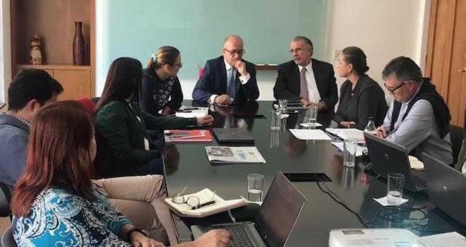 Fondo Adaptación realiza mesa de trabajo con Gobernador del Atlántico