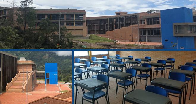 Comenzó a llegar dotación para el nuevo colegio de Gramalote