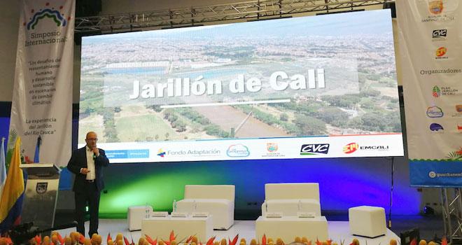 Jarillón de Cali es una realidad gracias al trabajo articulado de los gobiernos nacional y local: gerente de Fondo Adaptación