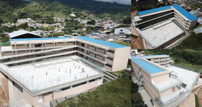 Más de 700 estudiantes de Trujillo, Valle del Cauca, estrenarán megacolegio hecho por el Fondo Adaptación