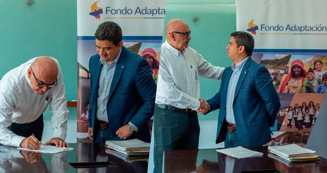 Fondo Adaptación firma contrato para asistir a caficultores del departamento de Magdalena