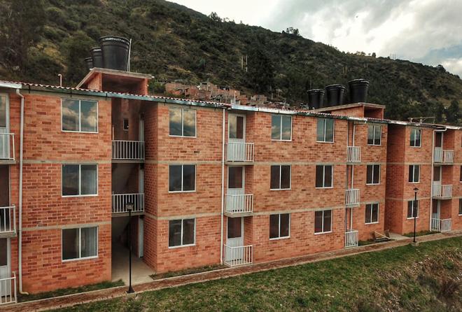 Fondo Adaptación Entrega 60 viviendas en Sativanorte, Boyacá y continúa cumpliendo con la directriz  presidencial de culminar obras iniciadas