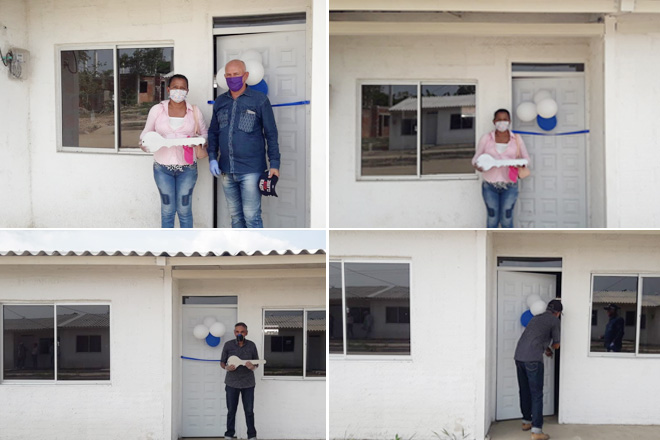Fondo Adaptación entregó viviendas a más de 300 personas en Majagual, Sucre