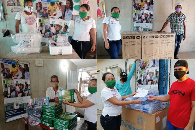 En medio de la pandemia, el Fondo Adaptación continúa impulsando proyectos productivos a familias de Villa Mompox