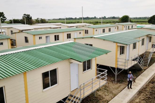 Fondo Adaptación entregó  otras 67 viviendas Palafíticas en Sucre-Sucre