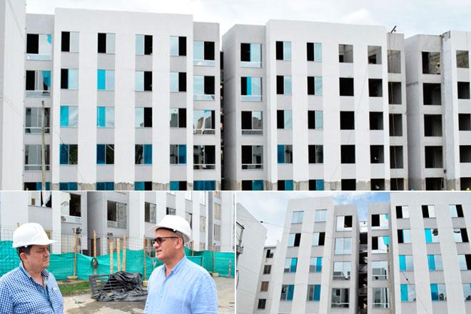 Gobierno Nacional, a través del Fondo Adaptación, entregará 60 viviendas más en Jarillón de Cali